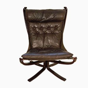 Norwegischer Falcon Chair von Sigurd Ressell für Vatne Mobler, 1979