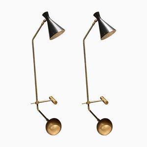Lampes de Tables Libra-Lux Vintage de Lamberti & Co, Set de 2