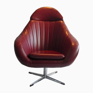 Mid-Century Dutch Swivel Chair from Rohe Noordwolde, 1960s