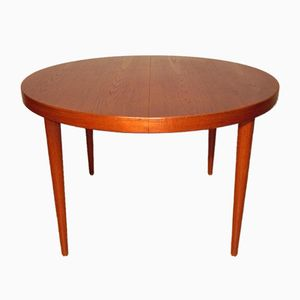 Vintage Scandinavian Round Table in Teak by Kai Kristiansen