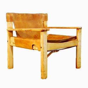 Schwedischer Geschirrleder Natura Sessel von Karin Mobring für Ikea, 1970er
