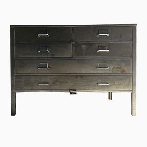Industrial Steel Chest of Drawers