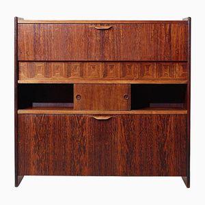 Vintage Rosewood Bar Cabinet by Johannes Andersen