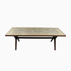 Mosaic Coffee Table by Berthold Müller-Oerlinghausen, 1950s