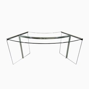 President Glass Desk by Gallotti & Radice