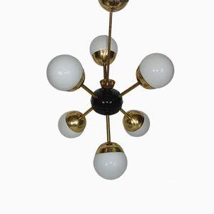 Sputnik Kronleuchter mit Sechs Leuchten