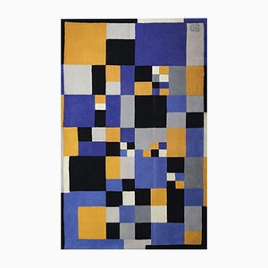 Carpet by Sonia Delaunay for Artcurial, 1980s