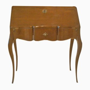 French Vintage Desk with Folding Top, 1950s
