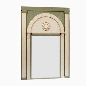 Spiegel mit Geschwungenem Zweifarbigen Rahmen