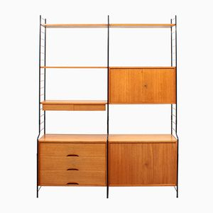 Free-Standing Wall Unit from WHB, 1960s