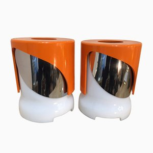 KD 24 Lamps by Joe Colombo for Kartell, 1966, Set of 2