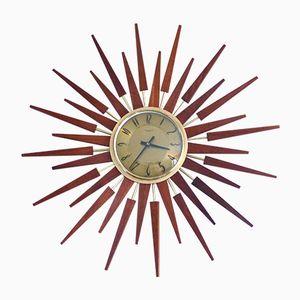 Sunburst Clock from Anstey & Wilson