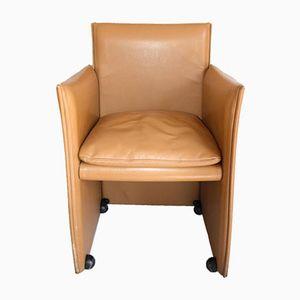 Vintage Modell 401 Break Armlehnstuhl von Mario Bellini für Cassina