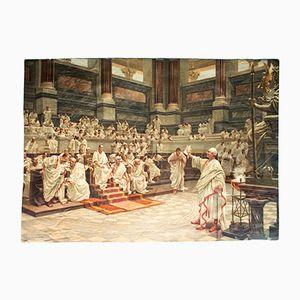 Litographe du Discours de Ciceros contre Catalina, 1912