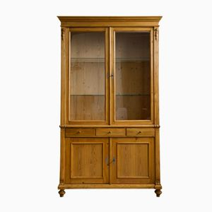 Large Antique Display Cabinet