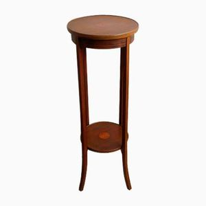Antique Empire Style Mahogany Flower Stand