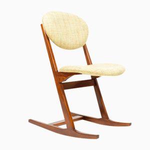 Rocking Chair by Karel Vyčítal & Miloš Sedláček for Dřevotvar Jablonné nad Orlicí