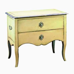 Small Vintage French Sycamore Commode