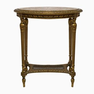 Antique Marble Louis XVI Coffee Table, 1790s