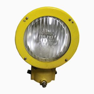 Gelbe Runway Lampe, 1980er