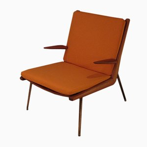 Model 135 Boomerang Chair by Peter Hvidt & Orla Molgaard Nielsen for France & Søn, 1950s