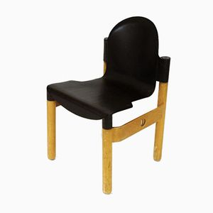 Vintage Flex 2000 Stacking Chair by Gerd Lange for Thonet, 1980s