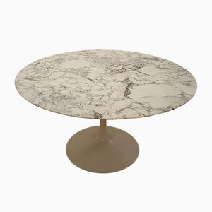 Model 137 Marble Tulip Table by Eero Saarinen for Knoll, 1960s