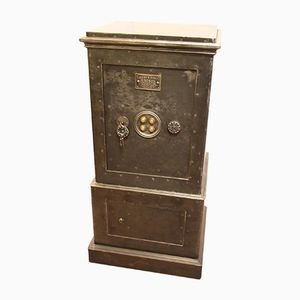 Black Steel and Iron Safe, 1890s