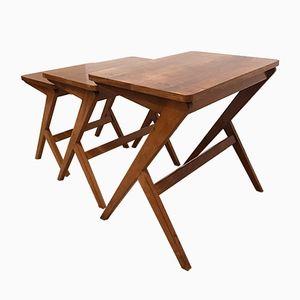 Ensemble de Tables Vintage Style Atomique