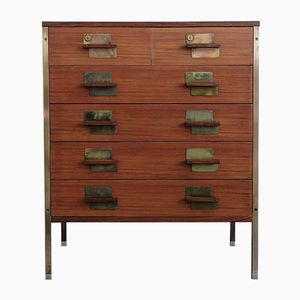 Vintage Positano Chest of Drawers by Ico Parisi for Mim
