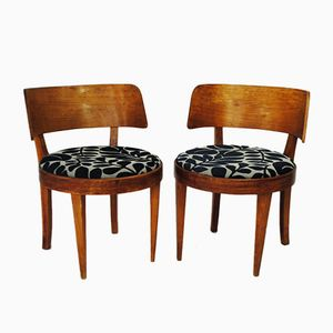 Chaises Cocktail Mid-Century, 1950s, Set de 2