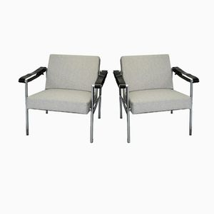 Vintage SZ08 Easy Chairs by Martin Visser for 't Spectrum, Set of 2
