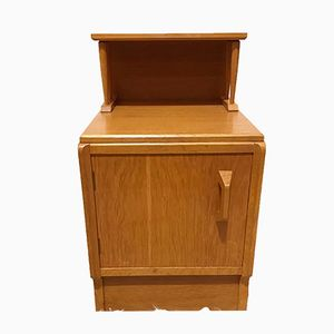 Brandon Range Oak Bedside Table Cabinet from G-Plan, 1950s