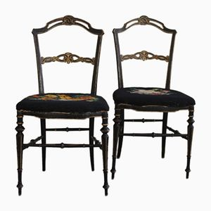 Vintage Chiavari Chairs, Set of 2
