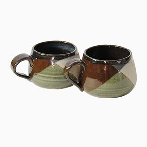 Small Shake Coffee Cups by Anbo Design, Set of 2