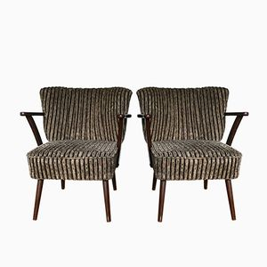 Mid-Century Cocktail Chairs with Armrests, 1960s, Set of 2