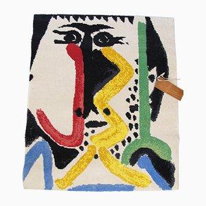 Tapie Vintage Motif Abstrait par Pablo Picasso pour Desso, 1960s