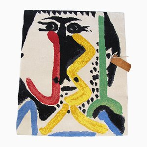 Vintage Abstract Rug by Pablo Picasso for Desso, 1960s