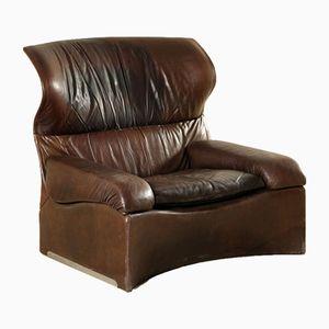 Italienischer Vintage Sessel von Giovanni Offredi für Saporiti