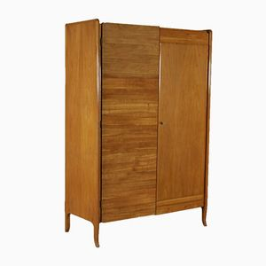 Vintage Wardrobe in Cherry Veneer, 1950s