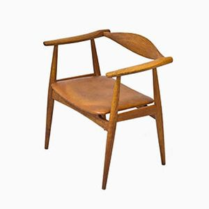 CH-34 Oak Armchair by Hans J. Wegner for Carl Hansen & Søn