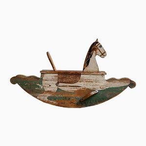 Antikes Biedermeier Schaukelpferd, 1820er