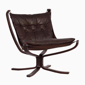 Skandinavischer Vintage Falcon Chair von Sigurd Ressell für Vatne Mobler