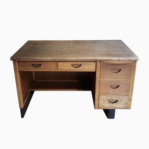 Vintage Oak Ministry Style Desk