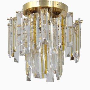 Italienische Vintage Murano Glas Deckenlampe