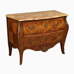 Vintage French Rosewood and Gilt Bronze Dresser, 1920s