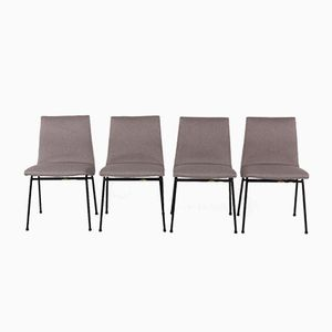 Chairs by Pierre Paulin for Meuble TV, 1950, Set of 4