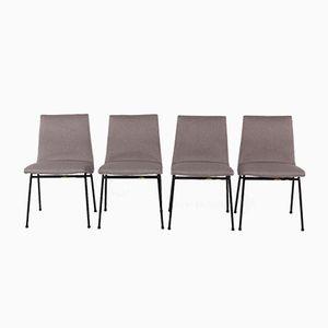 Stühle von Pierre Paulin für Meuble TV, 1950, 4er Set