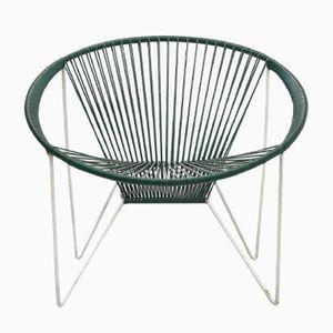 Grüner Stuhl im Acapulco Stil, 1960er
