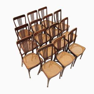 Chaises No. 675 Art Nouveau de Thonet, 1900s, Set de 6